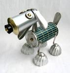 Sterling - Robot Dog Sculpture