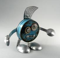 Les - Robot Sculpture by adoptabot