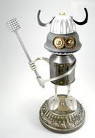Bork - Robot Sculpture by adoptabot