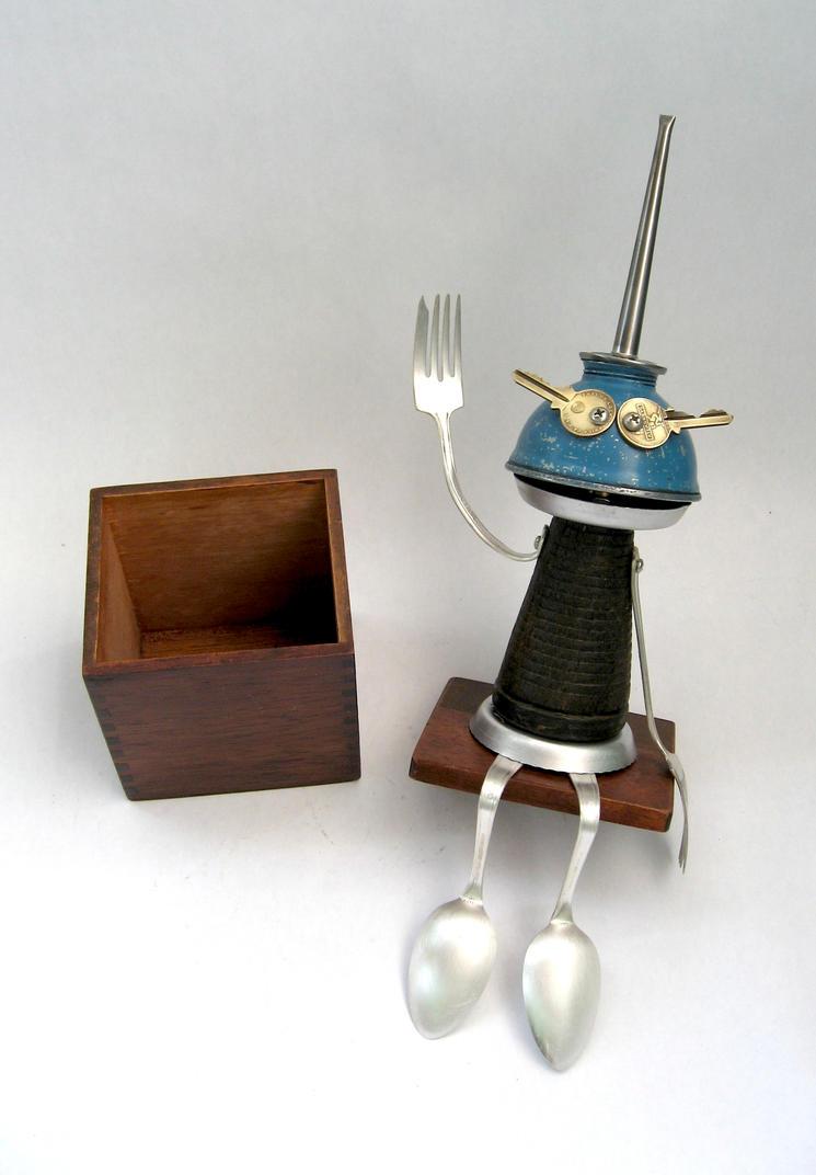 Taylor 2 - Robot Sculpture by adoptabot