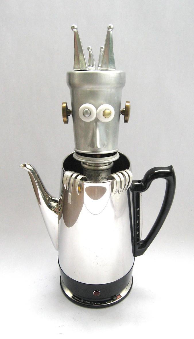 Vestar - Robot Sculpture by adoptabot