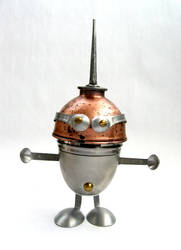 Bolli - robot sculpture