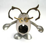 Helga - Robot Sculpture