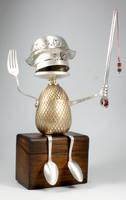 Rod - Robot Sculpture by adoptabot