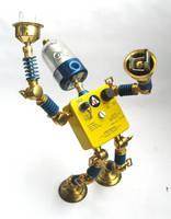 CD - Robot Sculpture by adoptabot