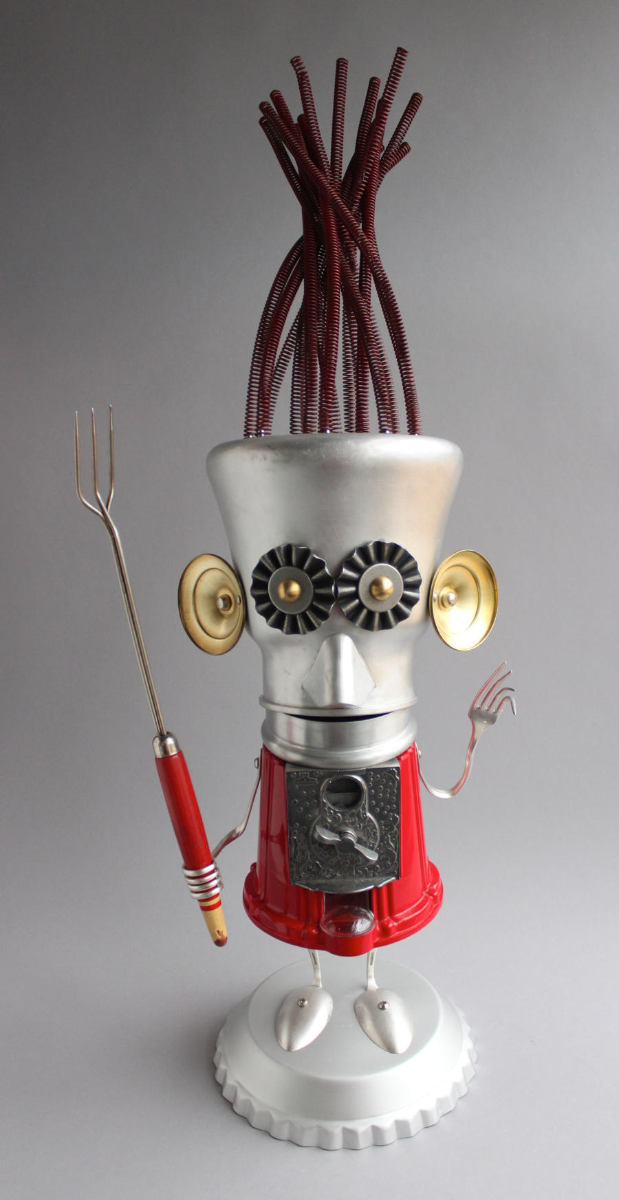robot sculpture New Work 2