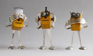 robot sculptures
