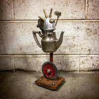 Robot sculpture 1000 by adoptabot
