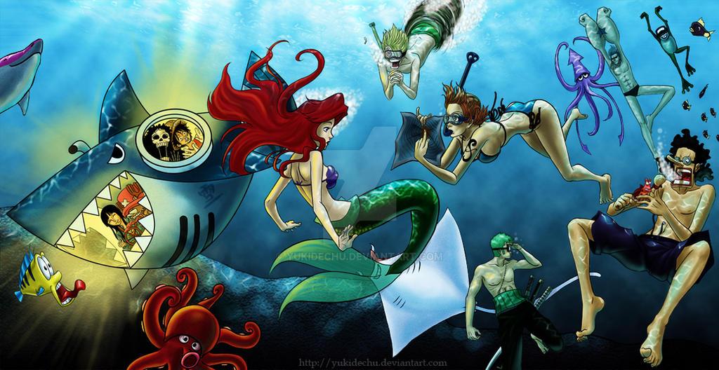Mugiwara underwater