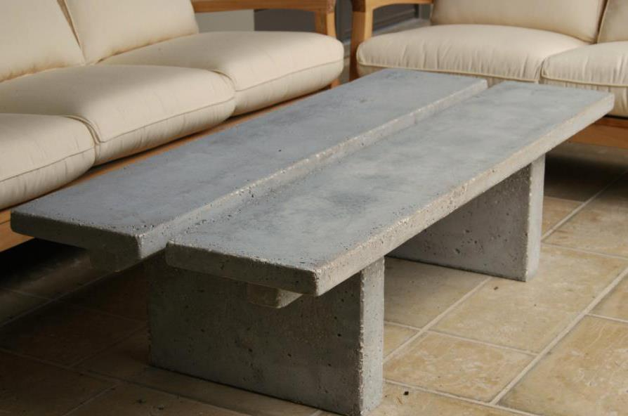 Concrete Table By Denys Stryker By Custom Art Furniture On Deviantart