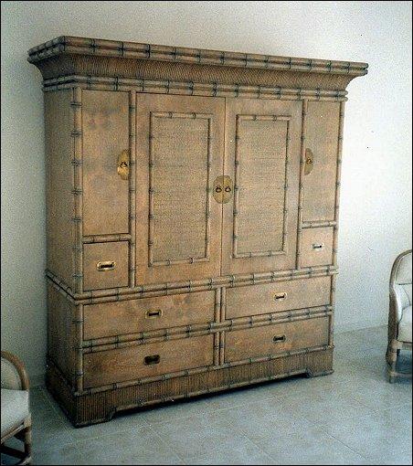 Bali Inspired TV Cabinet/ Entertainment Center By Custom Art Furniture ...