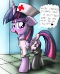 Nurse Sparkle (alicorn version)