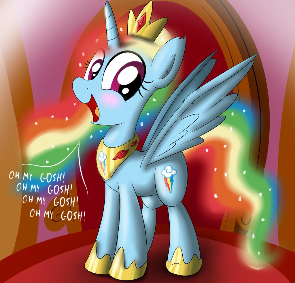 Princess Dashie by Ziemniax