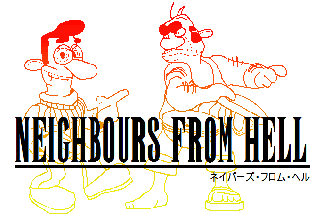 Neighbours From Hell Game Logotype