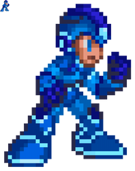 MegaMan (MM: Fully Charged) - MM8 Style