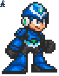 Rock (Pachislot Rockman Ability) - MM7 Style by MaikeruThePlayer