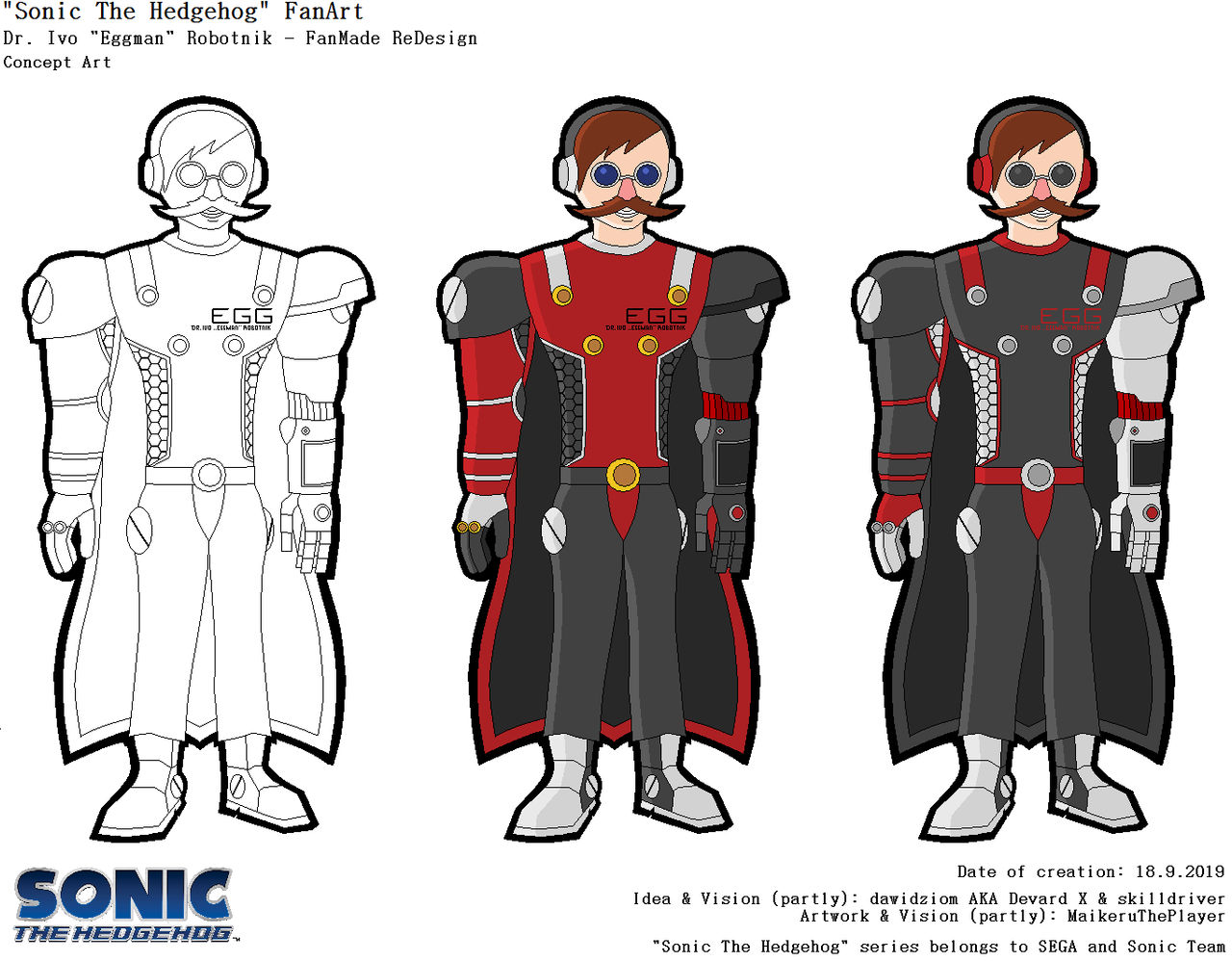 Dr Eggman Sonic Series Fanmade Redesign By Maikerutheplayer On Deviantart