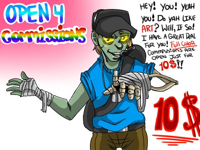 Digital Art Commissions! OPEN! by Kneel4Loki13