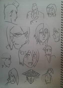 Bleach Sketches