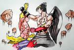 Asura vs Devil Jin