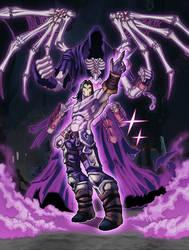 Darksiders 2 JoJo style by demonic-brute