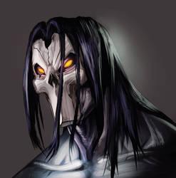 Death portrait by demonic-brute