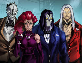 Darksiders Party by demonic-brute