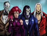 Darksiders Party by demonic-brute
