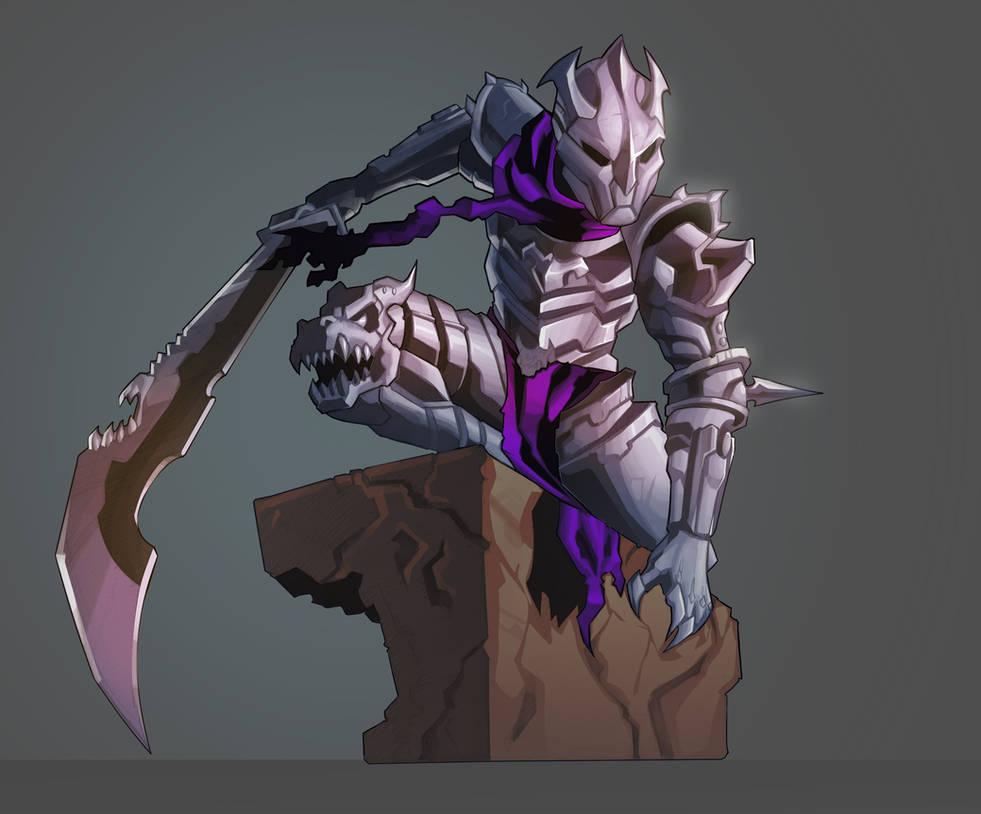 Knight Dude Chibi by demonic-brute