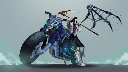 Cyberpunk Death by demonic-brute