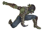 Reptile MKX by demonic-brute