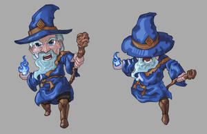 Chibi Wizard DND