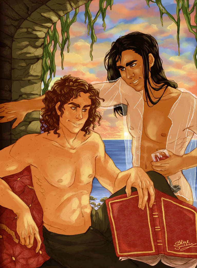 Andar and Edmun by BlueSoulber