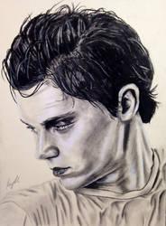 Evan Peters by KayleeBerry97