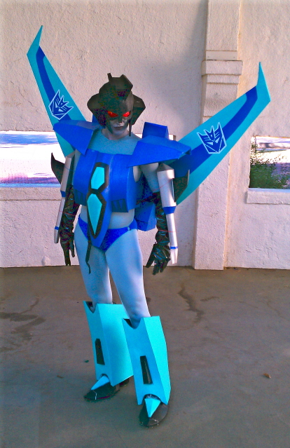 Slipstream costume Complete by Fire-Redhead