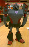 Megatron in Clay front
