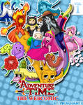adventure time webcomic cover
