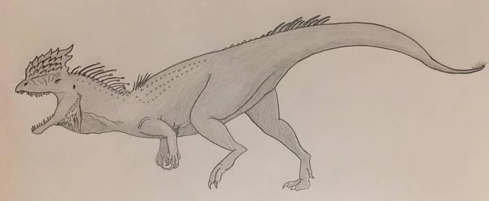 Dilophosaurus Redraw
