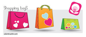 Shopping Bags Dock icons