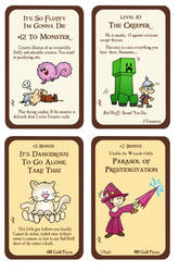 Munchkin Custom Cards by Zaree-Nilerabanwen