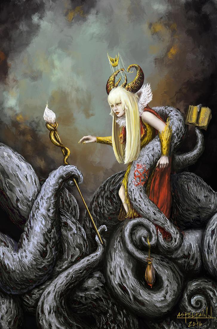 The Metamorphoses of Kurosaki Akiko - Demon by Asteltainn