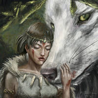 Princess Mononoke by Asteltainn