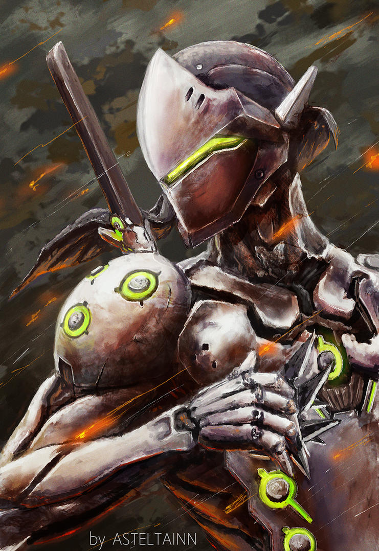 Genji Overwatch By Asteltainn On Deviantart