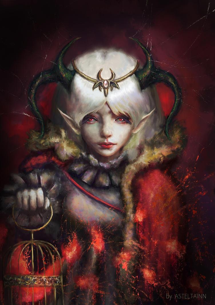Little Vampire by Asteltainn