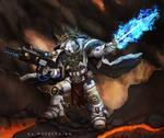 Warhammer 40k by Asteltainn