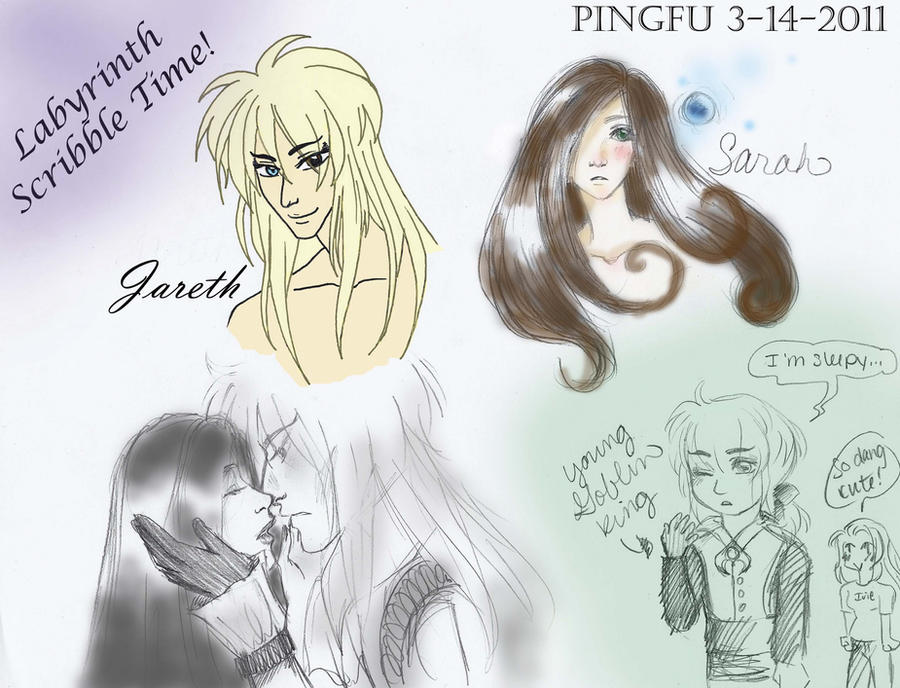 Labyrinth Scribble Time by Poisonisnotgoodforu