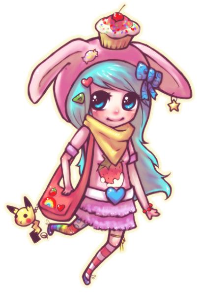 sugar bunnie by quiggabeth