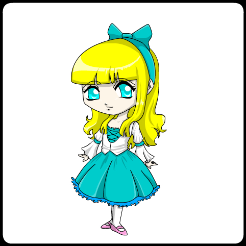 colored princess- Kikko by jodisamma