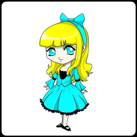 colored princess- Bubbles by jodisamma