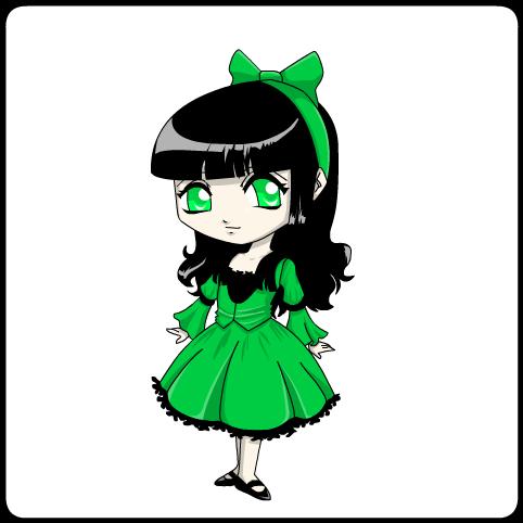 colored princess- Buttercup by jodisamma